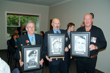 the Fallen - Graeme Ryalls with Tom Cooper, Roy Reddy with John Gurnick, Peter Harris with Dave Wright [Binning]