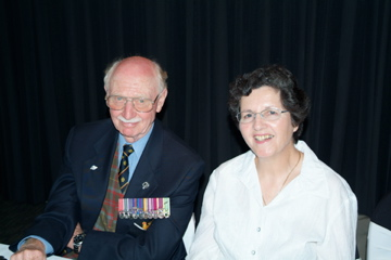 Company Sergeant Major Doug and Christine Mackintosh [Binning]