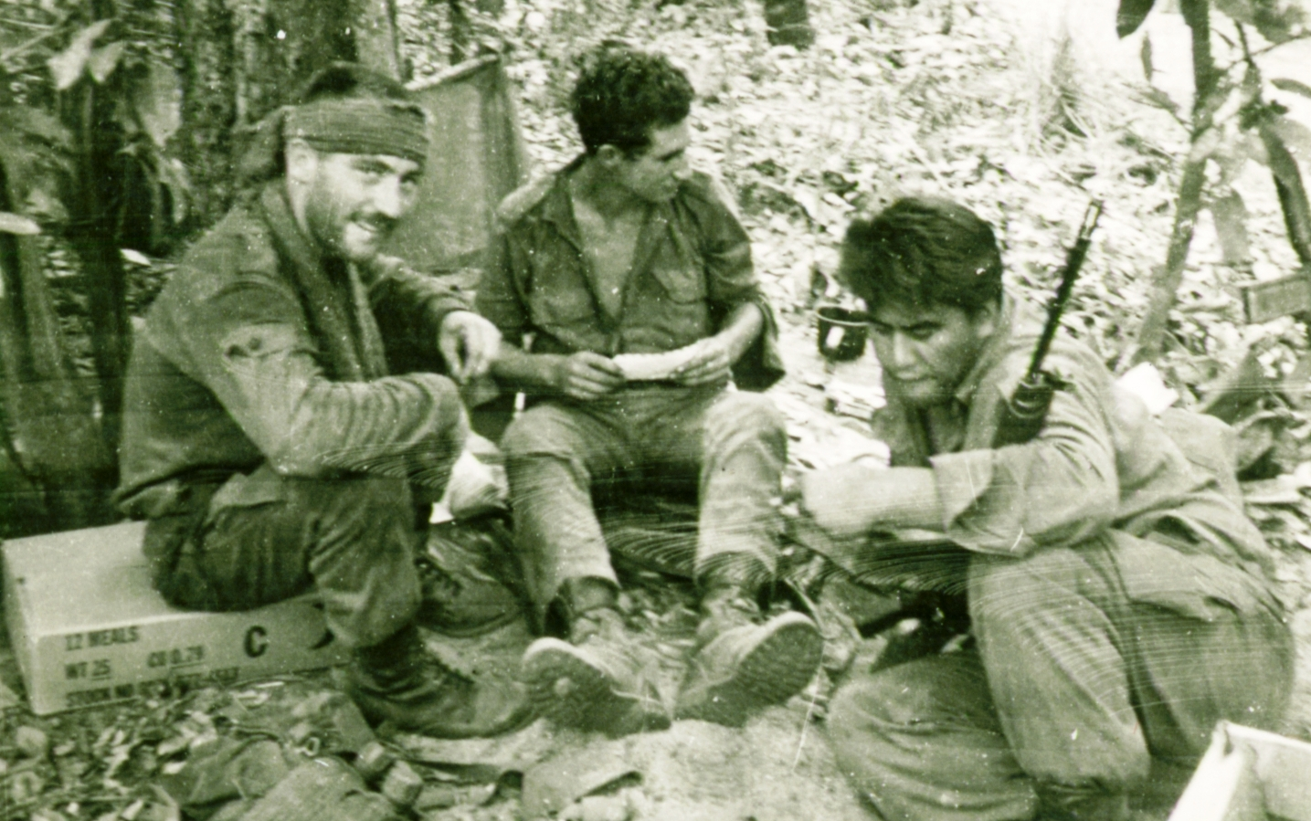 grub & mail - Pte Colin Drylie, Pte Vic Hill & Pte Roy Whatarangi 3Pl [Brooker]