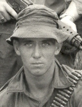 Pte John Gurnick RNZIR KIA 29 May 1970 [photo taken during training in Malaysia] [Welsh]