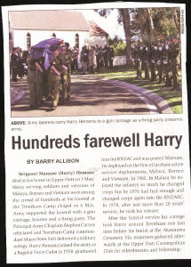 Harry Hemana ex-2Pl w3 funeral report [click on image to read text]
