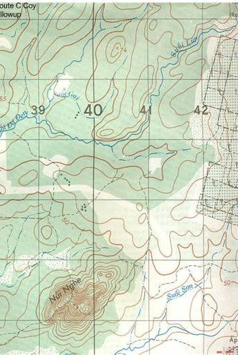 topographical map Hat Dich area Phuoc Tuy province Vietnam [Young]