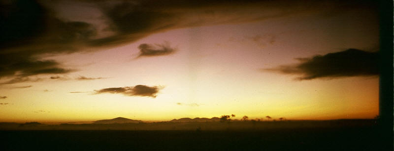 """At the going down of the sun, and in the morning, we will remember them...!'  sunset over Phouc Thuy province Vietnam 1970 [Stock]"