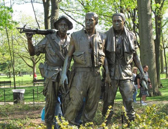 Statue of Three Soldiers - Washington DC [internet]