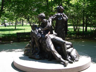 Vietnam Womens memorial Washington DC [internet]